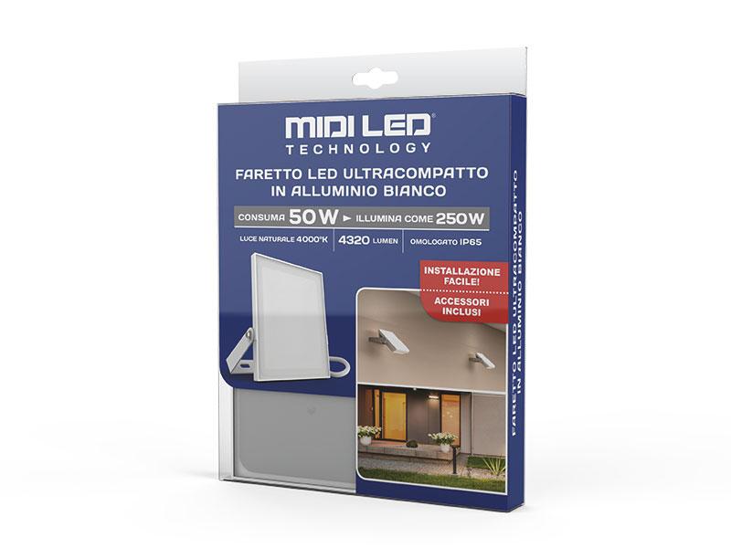 MIDILED - Faretto ultracompatto FFPN250B